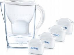 Dzbanek filtrujący Brita Marella Cool biały + 4 wkłady filtrujące