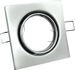 Polux Wpust wpuszczany prostokątny szary Polux OPIN 306296