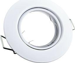 Polux Wpust wpuszczany kula biały Polux OPIN 306388