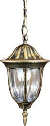 Polux Lampa wisząca zewnętrzna mosiężna Polux FLORENCJA 302557