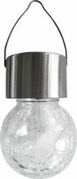 Polux Lampa wisząca ogrodowa chromowana Polux Kula LED 304704