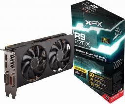 Karta graficzna XFX Radeon R9 270X Double Dissipation 4GB DDR5 (256 Bit)  2xDVI, HDMI, DP (R9-270X-EDJ4) ID produktu: 690631