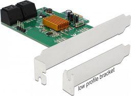 Kontroler Delock PCIe 2.0 x1 - 4x SATA III (90382)