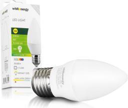 Whitenergy Żarówka LED, E27, 3W, 230V, biała ciepła (09904)
