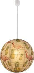 Lampa wisząca Globo Lampa sufitowa biała Globo FLAMANT 16921