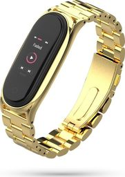 Tech-Protect Bransoleta stalowa Mi Smart Band 5 złota