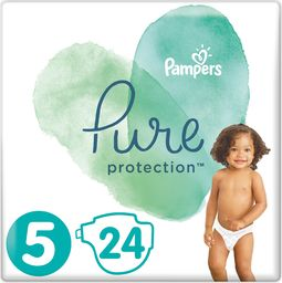 Pampers Pieluchy jednorazowe Pure Protection r. 5 24 szt.