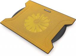 Podstawka chłodząca Omega LAPTOP COOLER PAD CHILLY 1 FAN 4 USB, Żółty (42191)