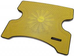 Podstawka chłodząca Omega Laptop Cooler Pad 1 wentylator, 2xUSB, Żółta (42196)