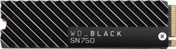 Dysk SSD Western Digital Black SN750 500 GB M.2 2280 PCI-E x4 Gen3 NVMe (WDS500G3XHC)
