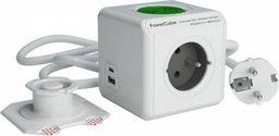 Listwa zasilająca PowerCube Extended 5 gniazd 1.5 m biała (11164/FRPEWL)