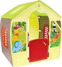 Mochtoys Domek dla dzieci Happy House żółty (11976)