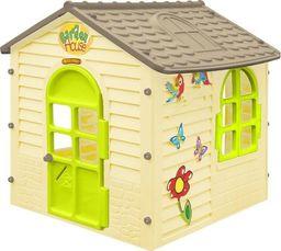 Mochtoys Domek dla dzieci kremowy