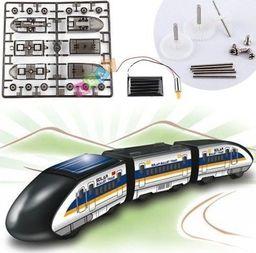 Import leantoys Zabawka Edukacyjna Pociąg Solarny Bullet Train