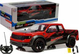 import leantoys Auto Zdalnie Sterowane Pick Up 1:10 Czerwone R/C