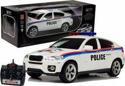 import leantoys Auto Zdalnie Sterowane Policja Coupe R/C