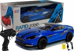import leantoys Auto Sportowe Zdalnie Sterowane 1:10 Niebieskie