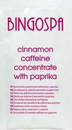BingoSpa Koncentrat cynamonowo - kofeinowy z papryką saszetka BingoSpa