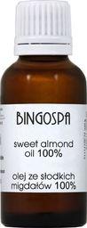 BingoSpa PO OPALANIU Olej ze słodkich migdałów 100% BingoSpa 30ml