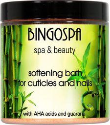 BingoSpa Zmiękczająca kąpiel do skórek i paznokci z kwasami AHA i guaraną BINGOSPA spa & beauty