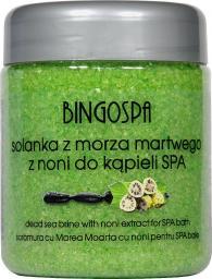 BingoSpa Solanka z minerałami Morza Martwego i ekstraktem soku Noni 550g