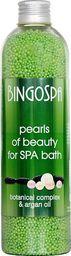BingoSpa Granulki do kąpieli Pearls of beauty - botanical complex and argan oil 230g