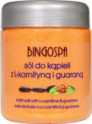 BingoSpa  Sól do kąpieli z L-karnityną i guaraną