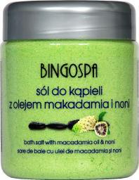 BingoSpa Sól do kąpieli z olejem makadamia i noni 580g