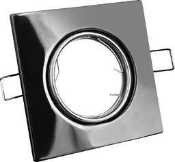 Polux Oprawa podtynkowa kostka czarna Polux OPIN 306319