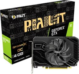 Karta graficzna Palit Karta graficzna GTX 1650 StormX OC D6 4GB GDDR6 128BIT HDMI/DP/DVI -NE61650U18G1-166F