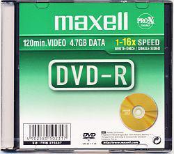 Maxell DVD-R 4.7GB 16x Printable 10 szt. (275742.40.CN)