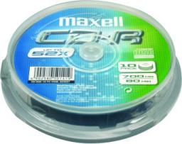 Maxell CD-R 700MB 52x Cake 10 szt. (624027.00.CN)