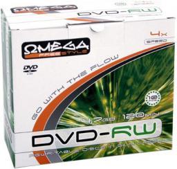 Omega FREESTYLE DVD-RW 4,7GB 4X SLIM CASE*10 (56699)