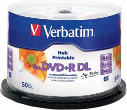 Verbatim DVD+R 8.5GB 8X Double Layer cake 50 szt    (97693)