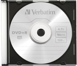 Verbatim CD-R 700MB 52x Extra Protection, Slim Case