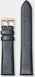 Cluse Pasek CLUSE La Bohme Strap 18 mm Dark Grey Metallic/Rose Gold CS1408101060