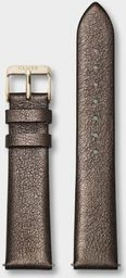 Cluse Pasek CLUSE La Bohme Strap 18 mm Chocolate Brown Metallic/ Gold CS1408101057