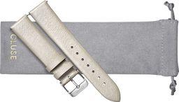 Cluse Pasek CLUSE Minuit Metallic/Silver16 mm CS1408101055