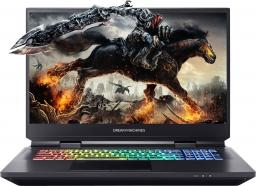 "Laptop Dream Machines RX2080S i7 17.3"" 144Hz/RTX2080 Super/1TB M.2 SSD/16 GB"