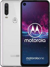 Smartfon Motorola One Action 128 GB Dual SIM Biały  (PAFY0006PL)