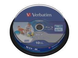 Verbatim BD-R SL 25GB 6X 10 szt  (43804)