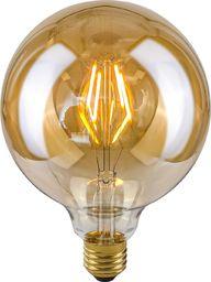 Italux Bursztynowa żarówka dekoracyjna E27 4W ciepła Italux ledowa LDS-G125-A