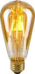 Italux Bursztynowa żarówka edison E27 4W ciepła Italux LED LDS-ST64-A
