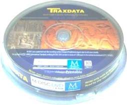 Traxdata DVD-M 4.7GB 4x, Cake 10 szt. (70Y1BTRA0001)