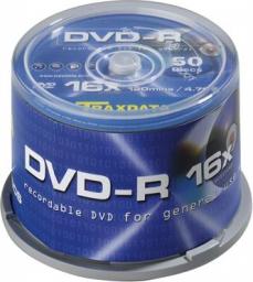 Traxdata DVD-R 4.7GB 16x, 50 szt. (9077E3ITRA003)