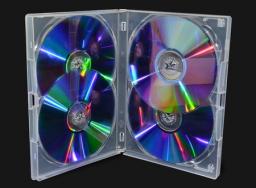 Amaray PUDEŁKO DVD 14MM AMARAY 4 CLEAR