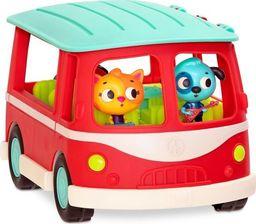 B.Toys Muzyczny autobus z wesołymi pasażerami Doo B. Doos czerwony
