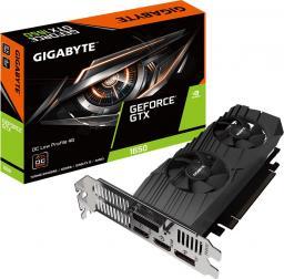 Karta graficzna Gigabyte GeForce GTX 1650 D6 OC Low Profile 4GB GDDR6 (GV-N1656OC-4GL)