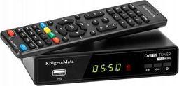 Tuner TV Kruger&Matz Tuner DVB-T2 Kruger&Matz H.265 HEVC dekoder TV