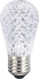 Candellux Transparentna żarówka E27 1W zimna Candellux ledowa 3670289
